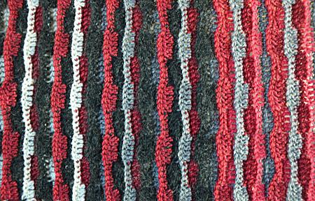 jasse sjaal rood zwart 020